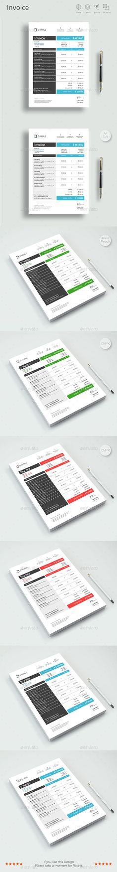 invoice template psd vector eps ai illustrator ms word proposal invoice templates pinterest stationery printing print templates and template