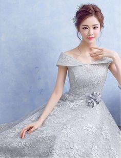 1950s Inspired Off Shoulder Floral Lace Dress