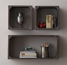 Industrial Rivet Display Shelf