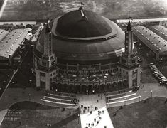 Seven Stadiums from St. Louis's Past   Missouri History Museum #vintagephotos #sports