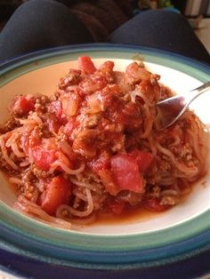 hCG Spaghetti with Meat Sauce (Phase 2 Friendly)