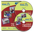 Model Me Organization & Motivation™ DVD  Models executive functioning skills such as planning ahead, seeing the big picture, learning from mistakes, & more.  Run Time: 63 min.  DVD plus free photo CD  For Ages 9-17