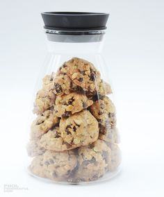 Oat Raisin Chocolate Chip Cookies