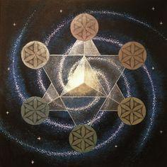 star tetrahedron tattoo - Google Search