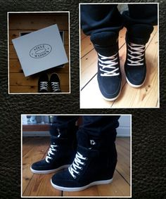 Steve Madden Wedge Sneakers