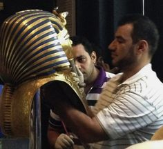 King Tut's mask, world's 'most famous archaeological relic,' has been permanently damaged - The Washington Post