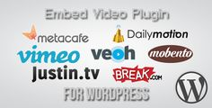 This Deals Embed Video Plugin for Wordpressyou will get best price offer lowest prices or diccount coupone