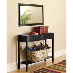 Bristol Mirror and Console - Furniture -Tables & Accent Tables