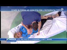 """Il Dr Gabriele Benedetti spiega come camminare e correre ed esegue un trattamento osteopatico in diretta con il campione mondiale Massimo Ciocchetti 🎬👨⚕️ tutto questo a """"il mio medico"""" 📺❤ #skytv #tv2000"""