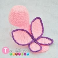 Butterfly Costume Crochet Pattern
