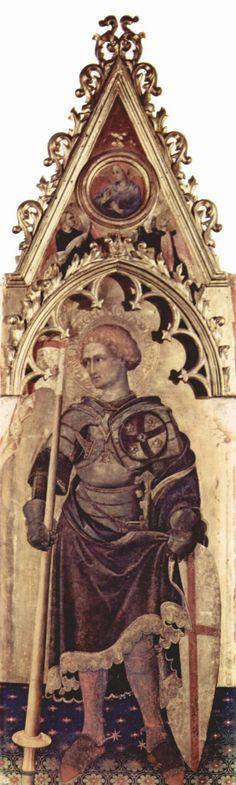 Polittico Quaratesi.  1425. San Giorgio.  Uffizi