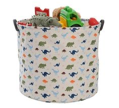 I think that my kids would consider this canvas storage tub from Mor-stor just about the right size for collecting Easter eggs… I think it's probably a little large for that job but it is perfect for holding toys and giving their rooms an Easter tidy-up! The Cooper Canvas Storage Tub, in a cute dinosaur design, is ideal for holding toys, shoes or other nursery gear. Sturdy, durable and easy to clean, these tubs look great as well. #Easter #Babyology