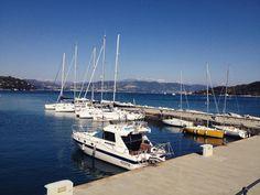 #portovenere #golfodeipoeti #laspezia #liguria #panoramica #view #paesaggio #landscape #mare #sea #imbarcazioni #boats #igerslaspezia #igersliguria #aprile #2015 #spring by ripiero93