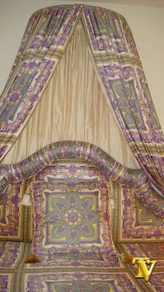 Versace Bedding, Custom Bed Canopy Treatment Luxury Bedding New York,http://www.amazon.com/dp/B006F6YWSE/ref=cm_sw_r_pi_dp_WJEftb1G3PJGQCRF