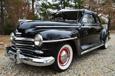 ✿1947 Plymouth P15 Business Coupe Super Deluxe✿