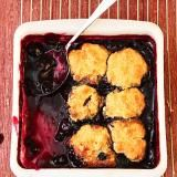 Blueberry Slump is gping to be my go-to dessert when summer entertaining!