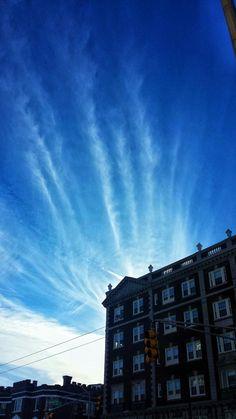 Clouds in Cambridge