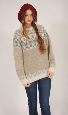 Vintage icelandic sweater
