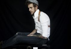 suspenders + hat