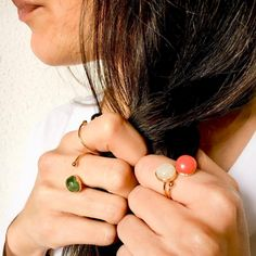 Inspírate este verano y dale color a tus manos con los #anillos de Marita and Me. Diseños y detalles que los hacen únicos, te enamorarás al verlos ❤️❤️ Disponibles en varios colores en la sección #NewCollections. http://www.baulchic.com/418-marita-me #moda #complementos #nuevascolecciones #joyas #jewerly #handmade #preciosquesorprenden #bauldelujo #Baulchic
