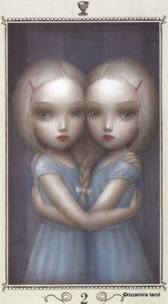 Two of Cups - Nicoletta Ceccoli Tarot by Nicoletta Ceccoli