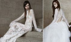 I die...Vera Wang debuts an edgy new bridal collection http://dailym.ai/P3dXvq #DailyMail