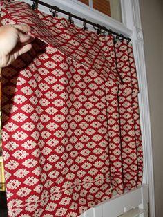Make No-Sew Pillow Case Curtains