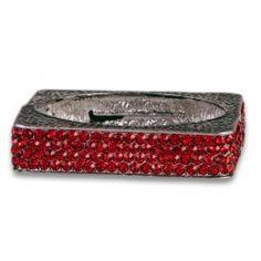 Jewelry Galore - Red Tonya Bracelet - $35 #fashion #jewelry #women #tonya