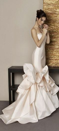 Sheath Wedding Dress : Antonio Riva Collection 2015 wedding dress // Pinned by Dauphine Magazine x Cast