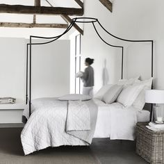 Bourton Quilt & Cushion Covers | New In | Bedroom | The White Company UK