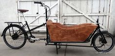 "CETMA ""Hugo"". Extra long bed, 29-inches long. Box and rear rack sold separately."