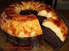 Ζαχαροπλαστική - Page 15 of 106 - Daddy-Cool. Greek Recipes, Desert Recipes, Cyprus Food, Flan Cake, Easy Desserts, Food Inspiration, Food To Make, Cake Recipes, Sweets