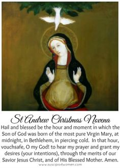 St Andrew Christmas Novena Prayer Printable--