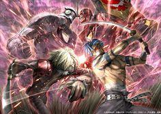 Viral vs Kamina Manga Anime, All Anime, Anime Art, Kill La Kill, Lagann Gurren, Gurren Laggan, Kohaku, Most Beautiful Wallpaper, Art Series