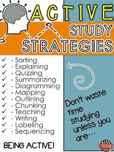 We assume kids know HOW to study but do they? Explicit study skills instruction in middle school.  Teaching kids to study smarter not harder!