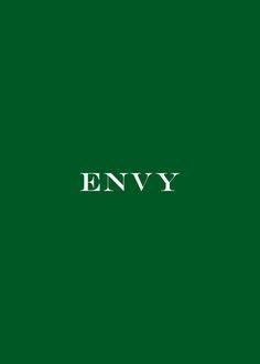 Color Esmeralda - Emerald Green!!! Green with Envy