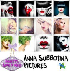 Annett's Sims 4 Welt: Anna Subbotina Pictures
