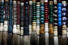 Chinese brushes
