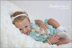 Smiling Baby Girl  * Harper * by Andrea Arcello  -  Reborn Realbabydolls Nursery