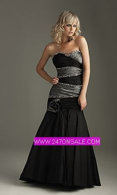 Black and ice silver bridesmaid dress, if it was Navy blue and ice ...
