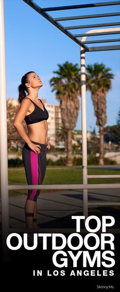 Top 5 Outdoor Gyms in Los Angeles - Fitness Tricks #weightlosstips