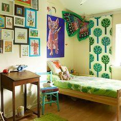 Kinderzimmer Wohnideen Möbel Dekoration Decoration Living Idea Interiors  Home Nursery   Kinderzimmer Mit Bunten Jalousien