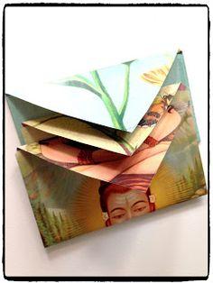 Snelle envelopjes. Erg makkelijk om te maken. Kijk maar op mijn blog.