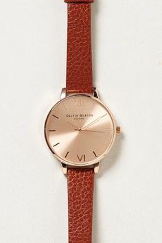 Eglantyne Rose Gold Watch