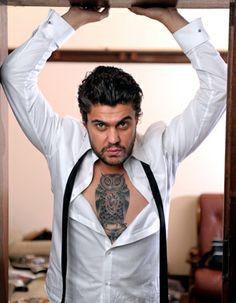 Dan Sultan  Gratuitous but delicious and he has an owl tat!!!