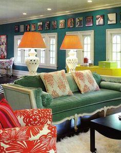 Thank you Paula! Idea for framing album covers above family room windows