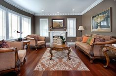 Stained Wood Crown Molding Design, Pictures, Remodel, Decor and Ideas - page 40  furniture