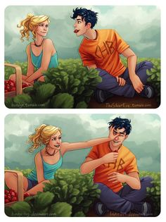 Read Percabeth from the story Immagini Percy Jackson! by (-Crazy_sarcastic) with 65 reads. Per la_percabeth! Percy Jackson Fan Art, Memes Percy Jackson, Percy Jackson Books, Percy Jackson Fandom, Percy Jackson Official Art, Percy Jackson Tattoo, Percy Jackson Comics, Annabeth Chase, Book Series