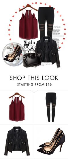 """""""Shein Contest"""" by irma-06 ❤ liked on Polyvore featuring Zizzi, Gianvito Rossi and Givenchy"""