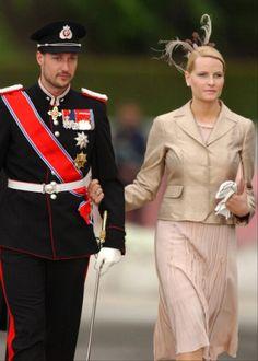 Crown Princess Mette-Marit and Crown Prince Haakon